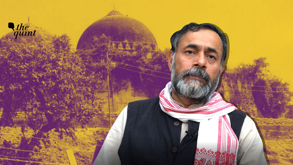 'Ayodhya Verdict at Odds With Its Own Principles': Yogendra Yadav