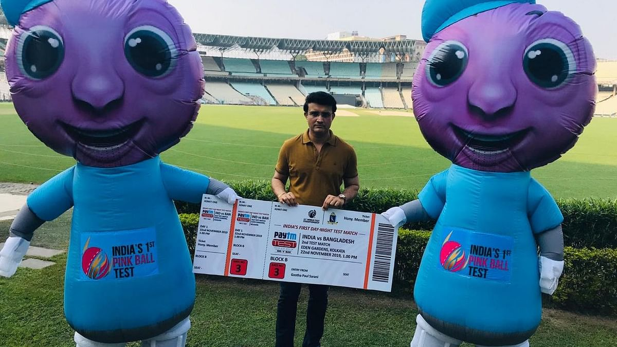 Tickets for First Four Days of Pink Ball Test Sold Out: Ganguly