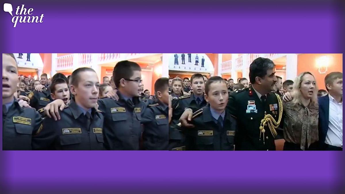 Young Russian Cadets Singing 'Aye Watan' Will Win Your Heart