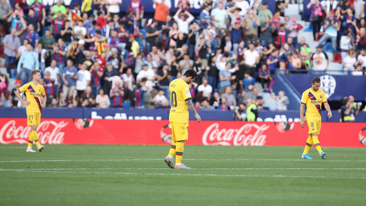 Their 3-1 defeat by Levante on Saturday reopened old wounds for Barcelona FC.