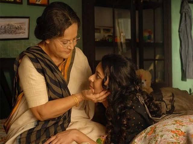 Raakhee and Bidita Bag in <i>Nirban.</i>