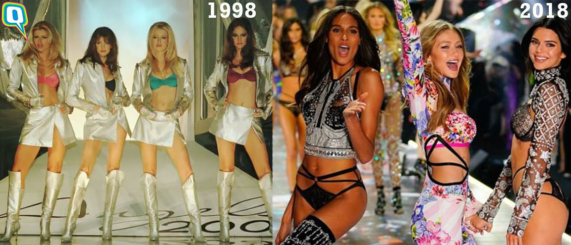 20 years of Victoria's Secret Fashion Show.