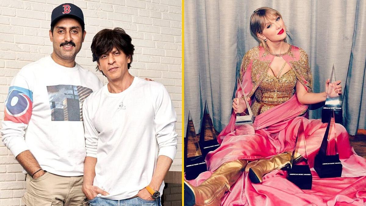 SRK will produce Abhishek Bachchan-starrer <i>Bob Biswas</i>; Taylor Swift bagged 6 wins at the 2019 AMAs.