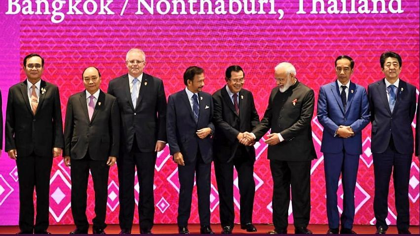 Prime Minister Narendra Modi was in Thailand on a three-day visit from 2 November to 4 November to attend the ASEAN-India, the East Asia and the RCEP summits.