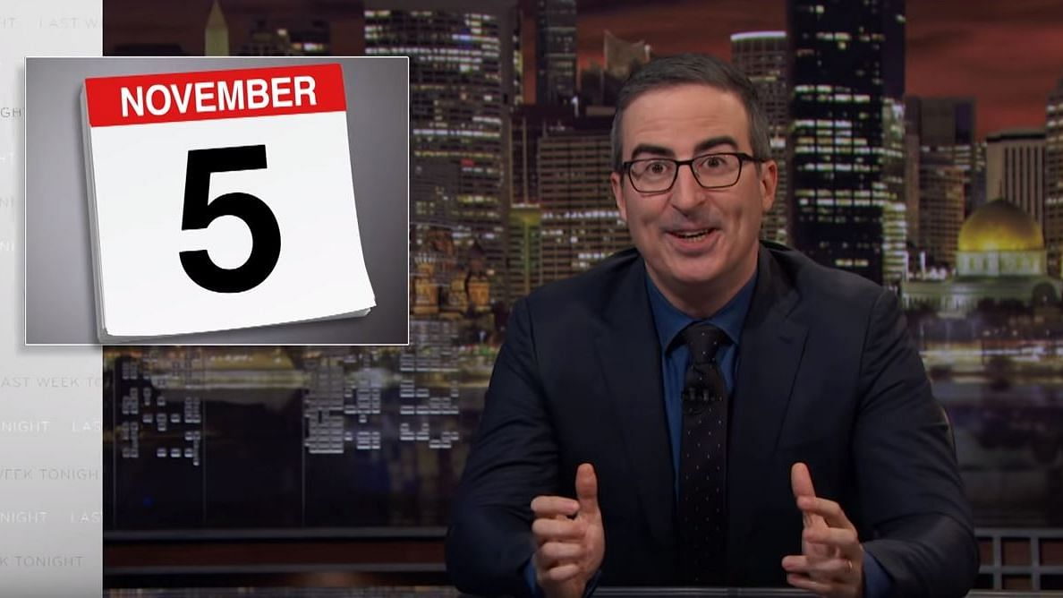 'All Voting Machines are Hackable': John Oliver Ahead of US Polls