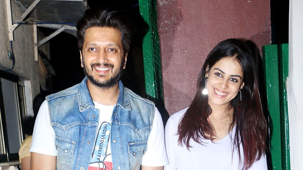In Pics: Stars Attend Genelia-Riteish's Son's Birthday Party