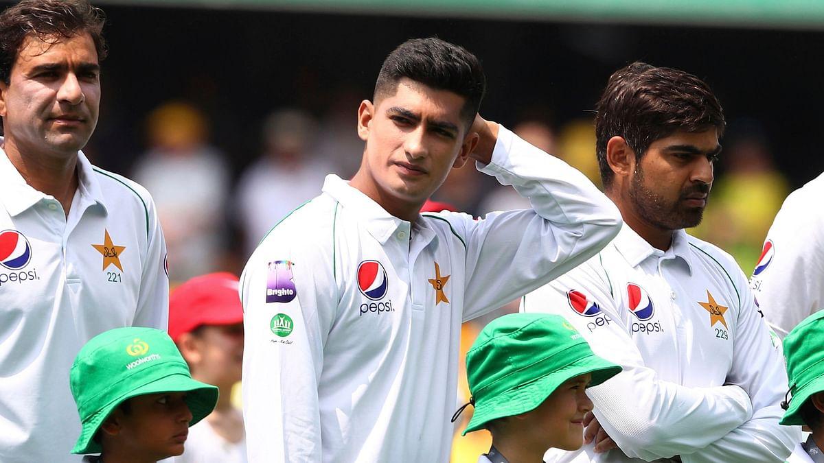 File photo of Pakistan Pacer, Naseem Shah.