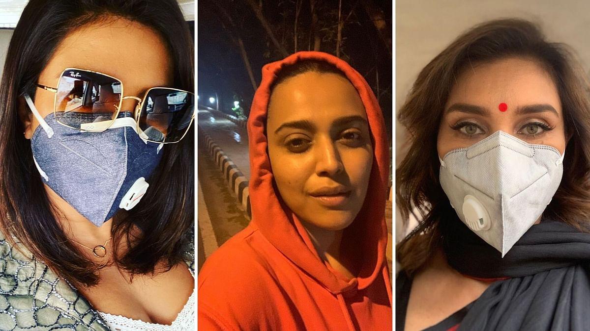 Rishi, Swara, Priyanka, Arjun Rage Against Delhi Pollution