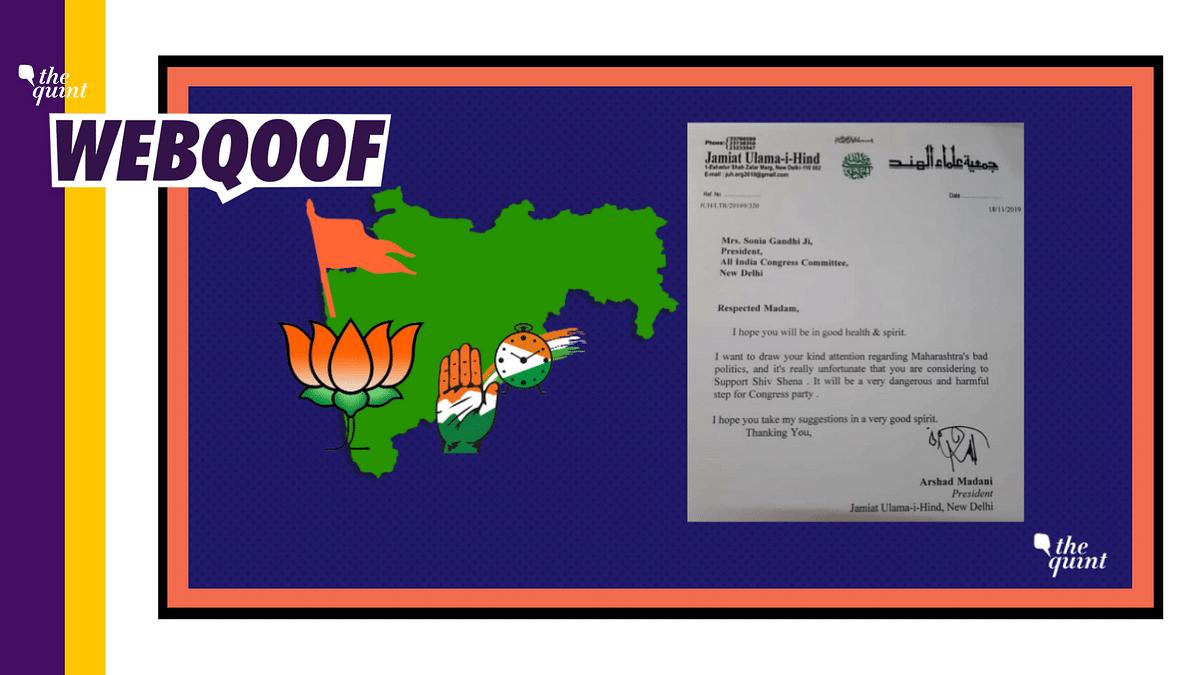 Jamiat Ulama-i-Hind Calls Letter to Sonia 'Fake', Media Misreports