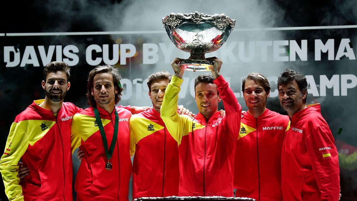 Rafael Nadal and Bautista Agut Lead Spain to Davis Cup Title