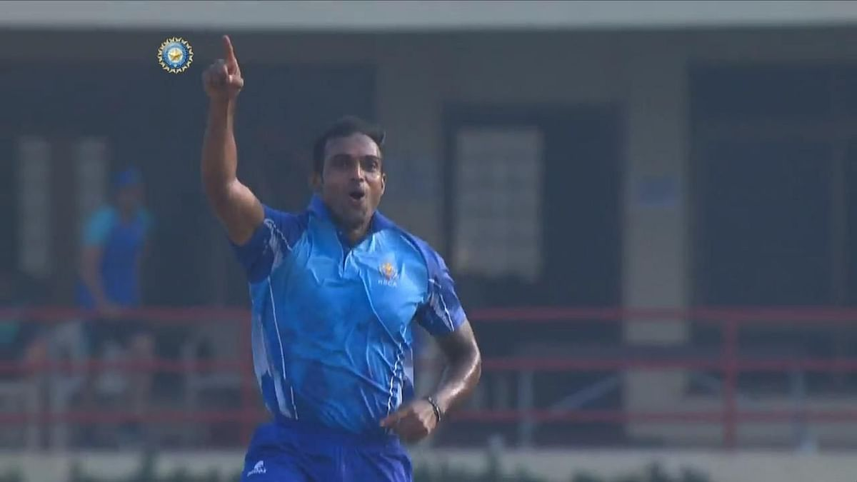 Syed Mushtaq Ali: Abhimanyu Mithun Takes Five Wickets In an Over