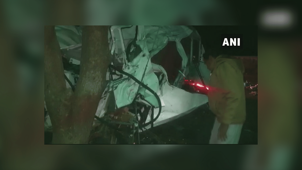 The accident occurred early in the morning, police said, adding that the victims were on their way to Hisar in Haryana from Maharashtra's Latur.
