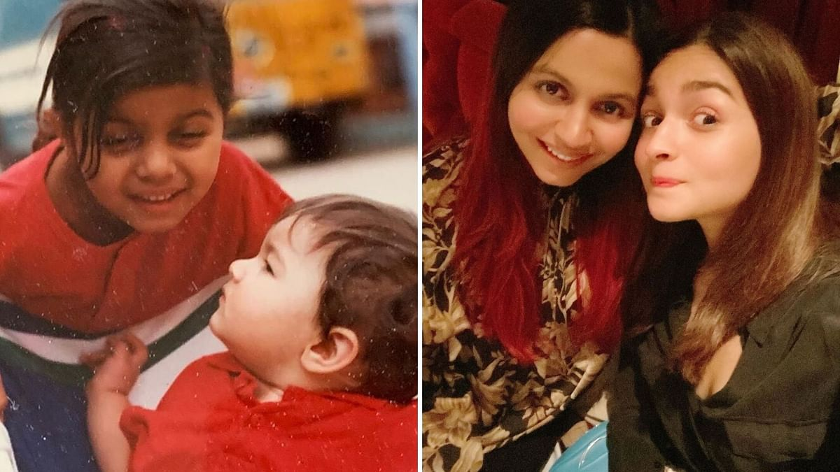 You're the Sweetest Artichoke: Alia Wishes Sis Shaheen on Birthday