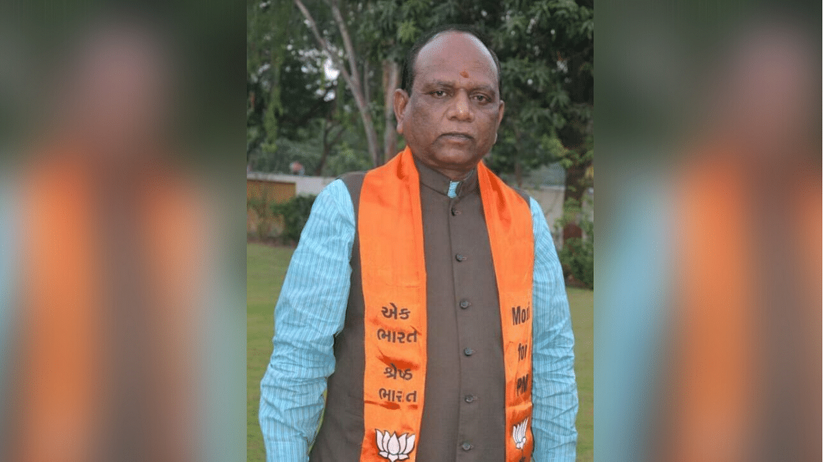 Mansukhbhai Vasava, BJP MP from Bharuch, Gujarat.