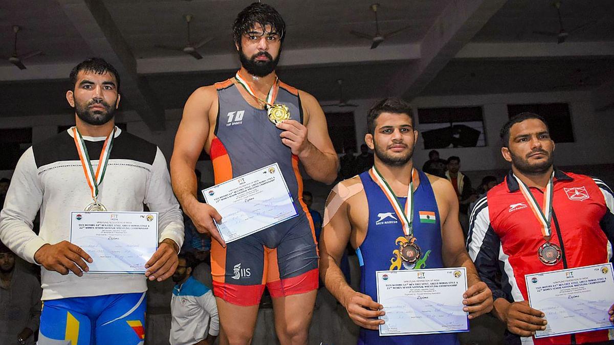 Wrestling Nationals: Sumit, Kadiyan Win Gold; Book SAG Berths