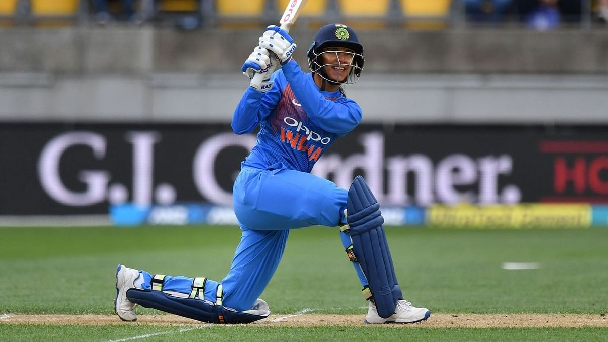 Mandhana ked India with a 74 run knock to clinch their ODI series against West Indies.