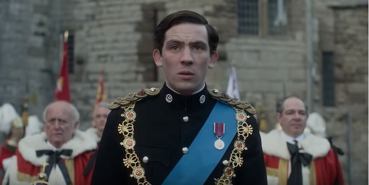 Josh O'Connor as Prince Charles in <i>The Crown </i>Season 3.