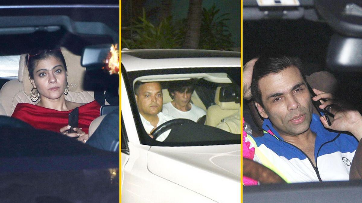 SRK, Kajol, KJo Join Rani Mukerji's Daughter's B'day Celebrations
