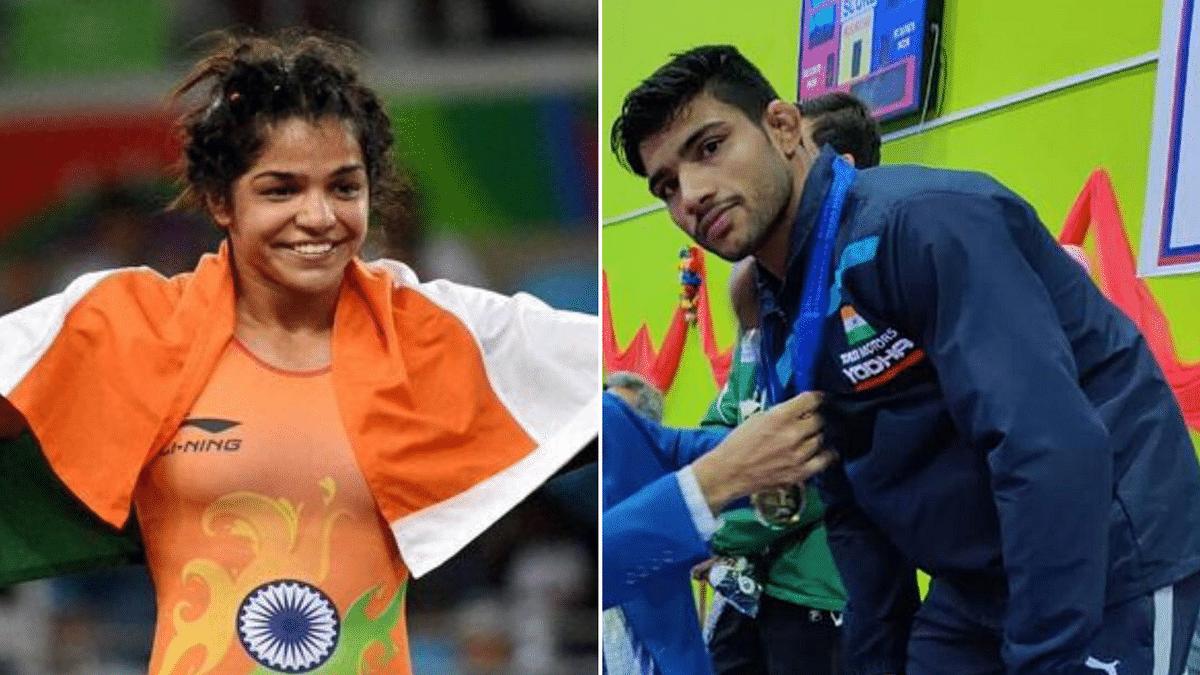 Sakshi, Ravinder Win 4 More Wrestling Gold at South Asian Games