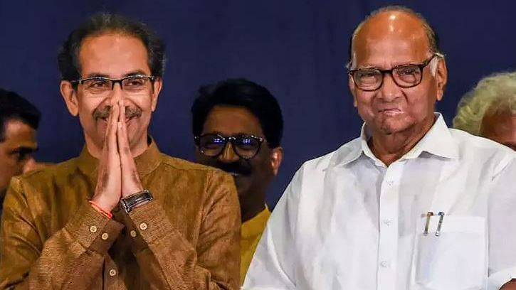 Day After Raut-Fadnavis Talks, Sharad Pawar Meets Uddhav Thackeray