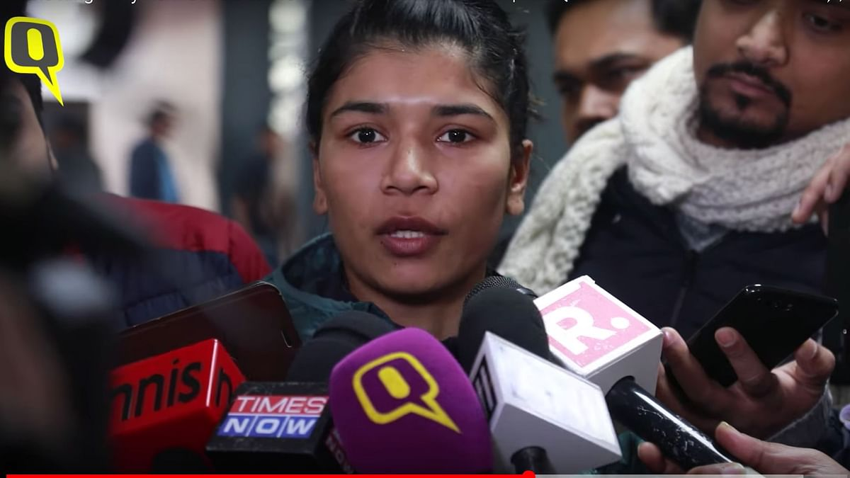 Mary Kom Used Bad Words For Me in The Ring: Nikhat Zareen