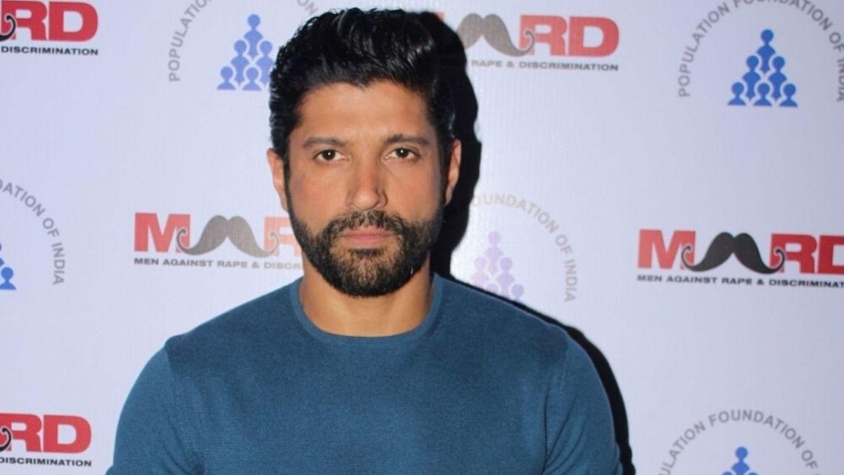 Actor Farhan Akhtar.