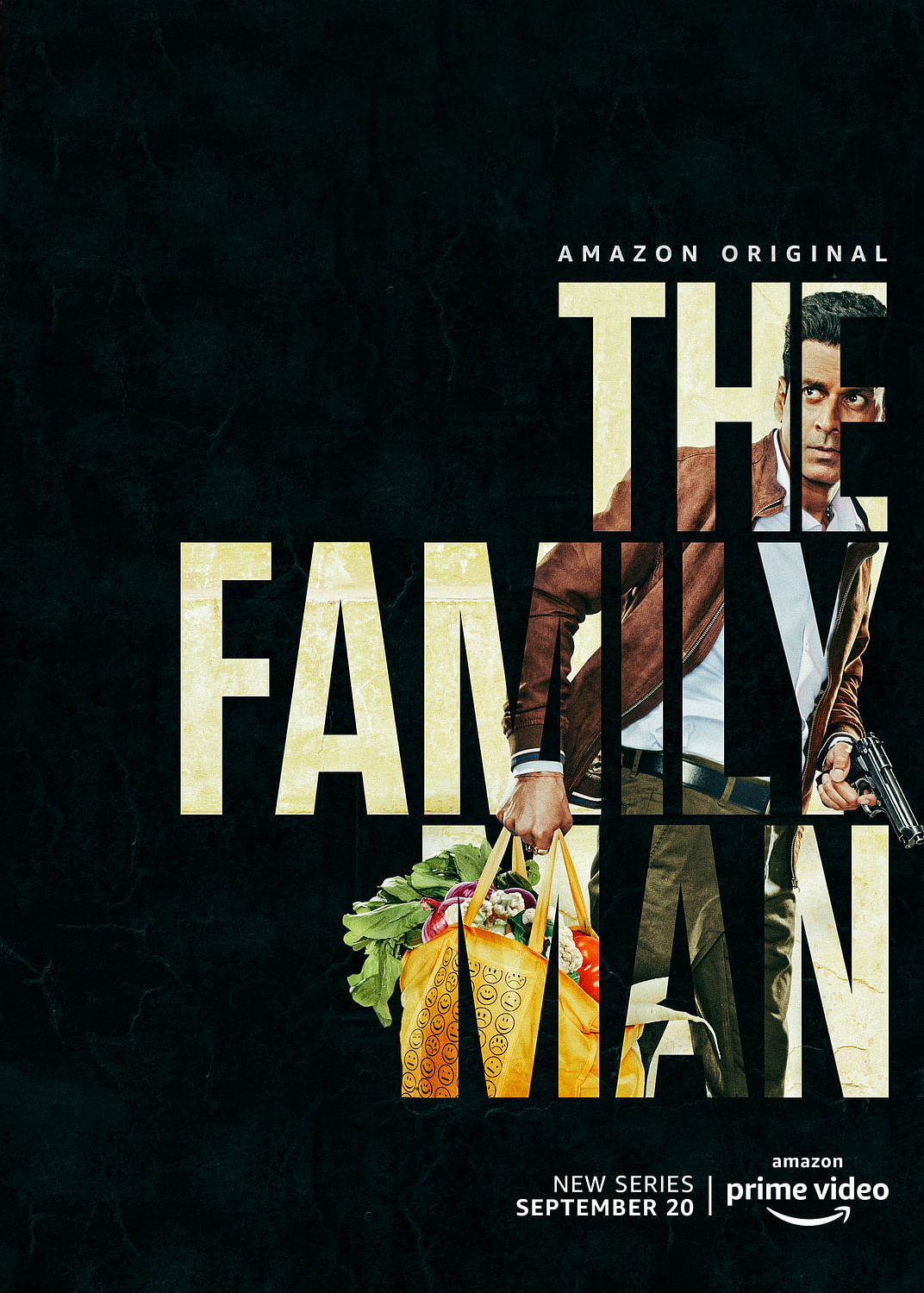 A poster for Amazon Prime Video's <i>The Family Man.</i>