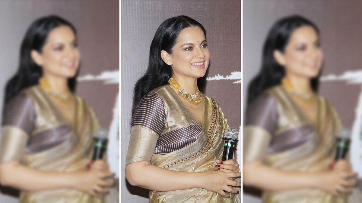 Kangana Ranaut at the trailer launch of <i>Panga</i>.