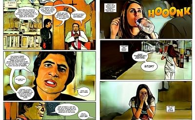 Bollywood films are painted on a big screen canvas filled with myriad hues of feelings along with music and dance, and now the stories are getting translated into comic book formats. With an aim to engage and entertain Bollywood fans, Shemaroo Entertainment has converted some of the iconic movies into comic books, which will be available for the readers in both English and Hindi.