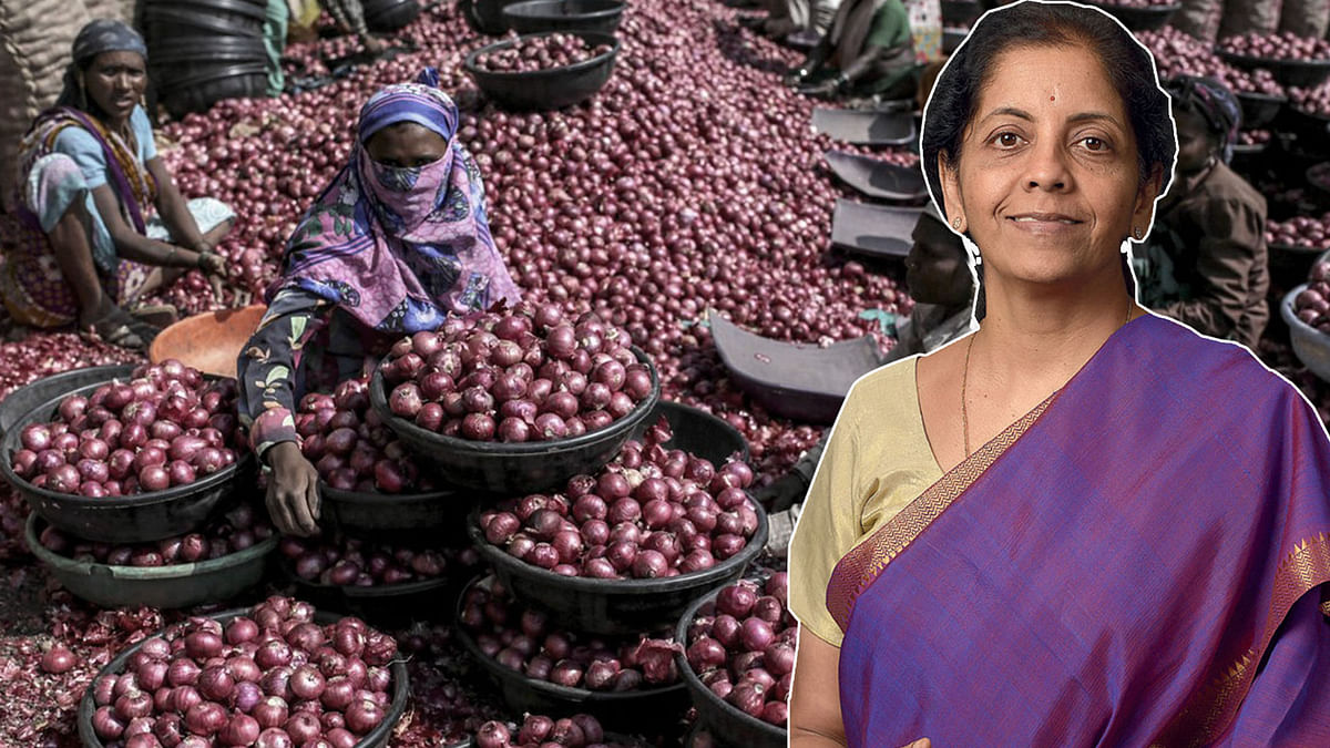 Sitharaman Says 'Family Doesn't Eat Onions', Politicians Lash Out