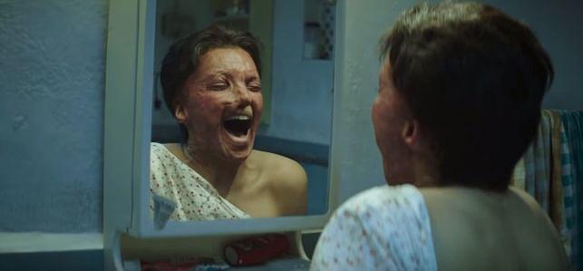 Deepika Padukone in a scene from the <i>Chhapaak</i> trailer.