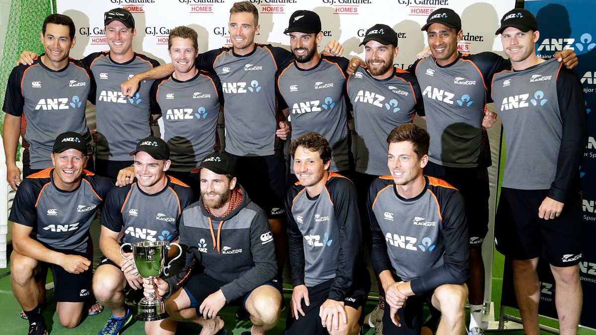 New Zealand Draw 2nd Test Against England, Win Series 1-0
