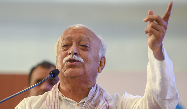 Don't Let Anti-India Forces Break us: RSS Chief on Palghar, Jamaat
