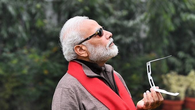 'Couldn't See Sun Due to Cloud Cover': PM Modi on Solar Eclipse
