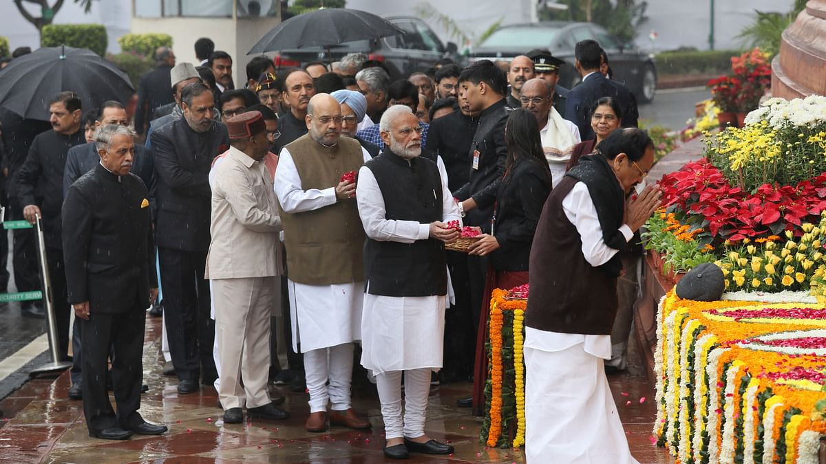 Leaders Pay Tribute on 18th Anniversary of 2001 Parliament Attack