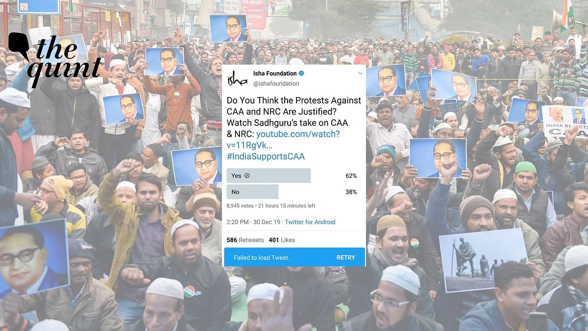 Twitter Polls on CAA, Modi Govt 'Deleted' On Indicating Results