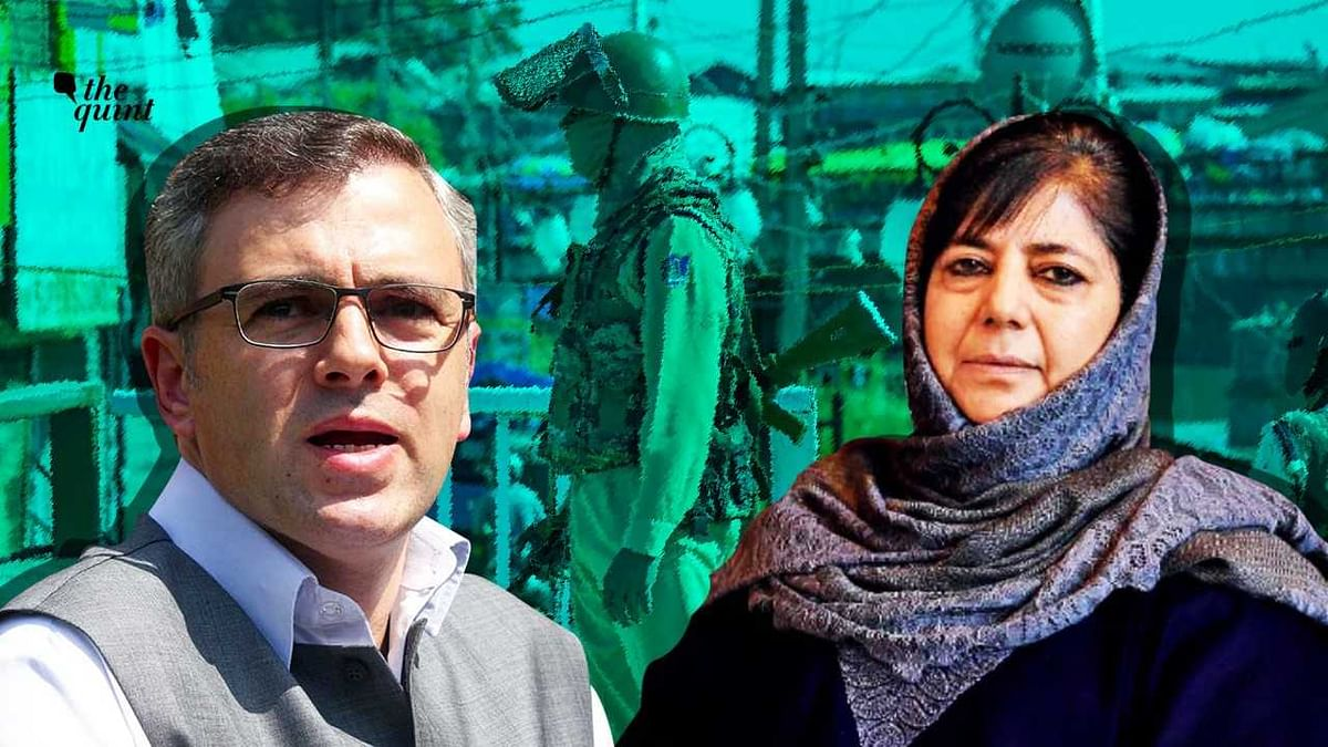Image of detained leaders Omar Abdullah and Mehbooba Mufti used for representational purposes.