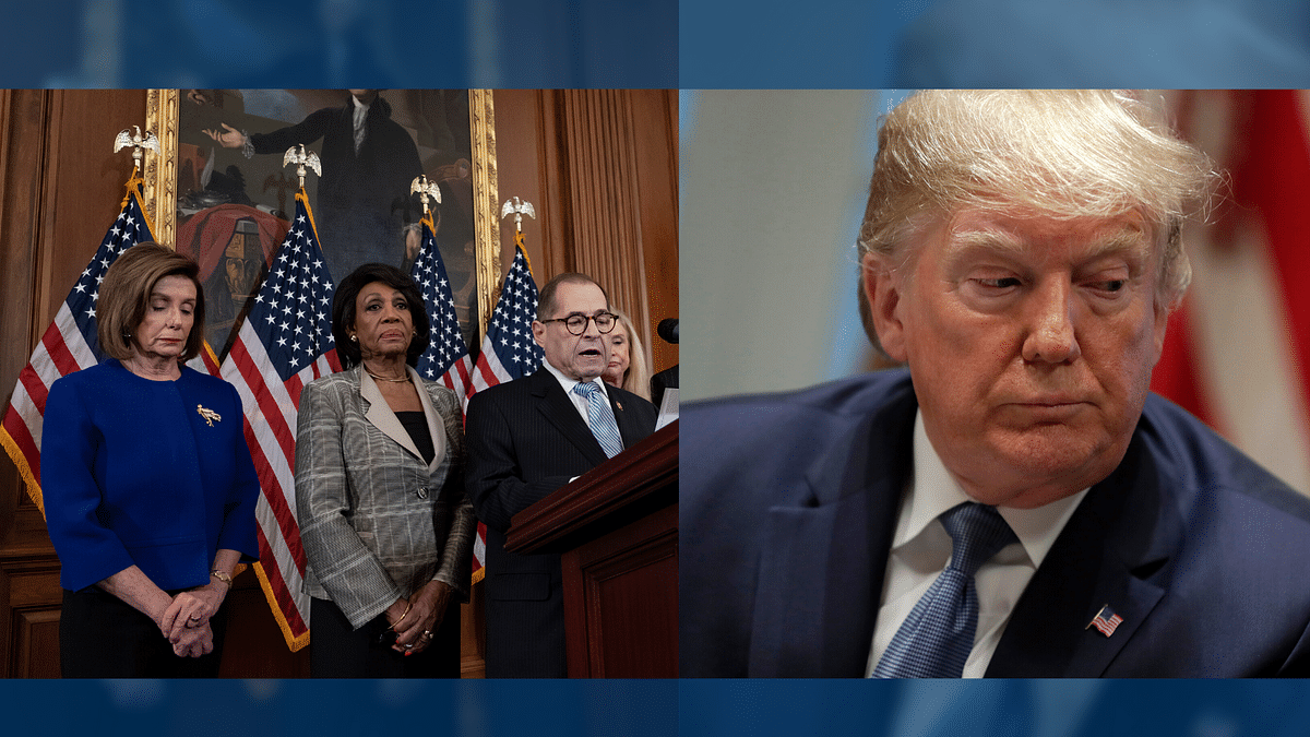 House Democrats announced two articles of impeachment on Tuesday, 10 December against President Donald Trump.