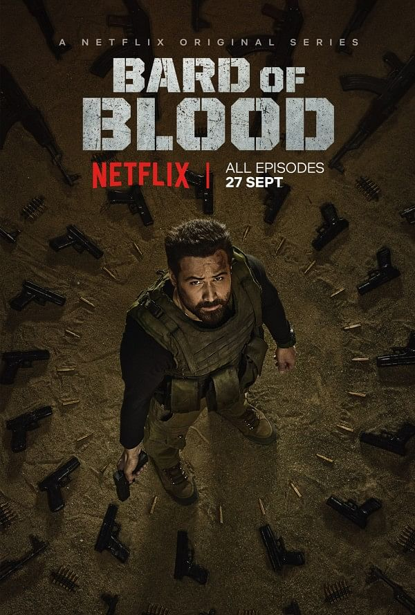 A poster for Netflix show <i>Bard of Blood.</i>