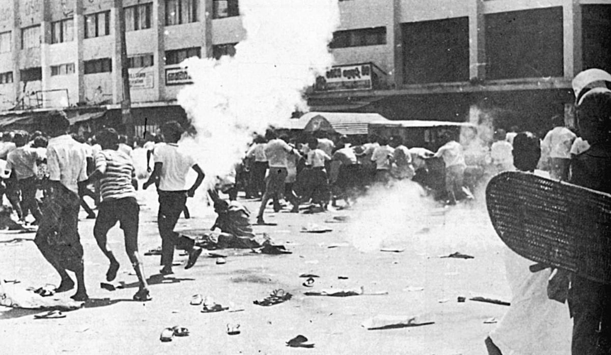 The Black July riots of 1983.