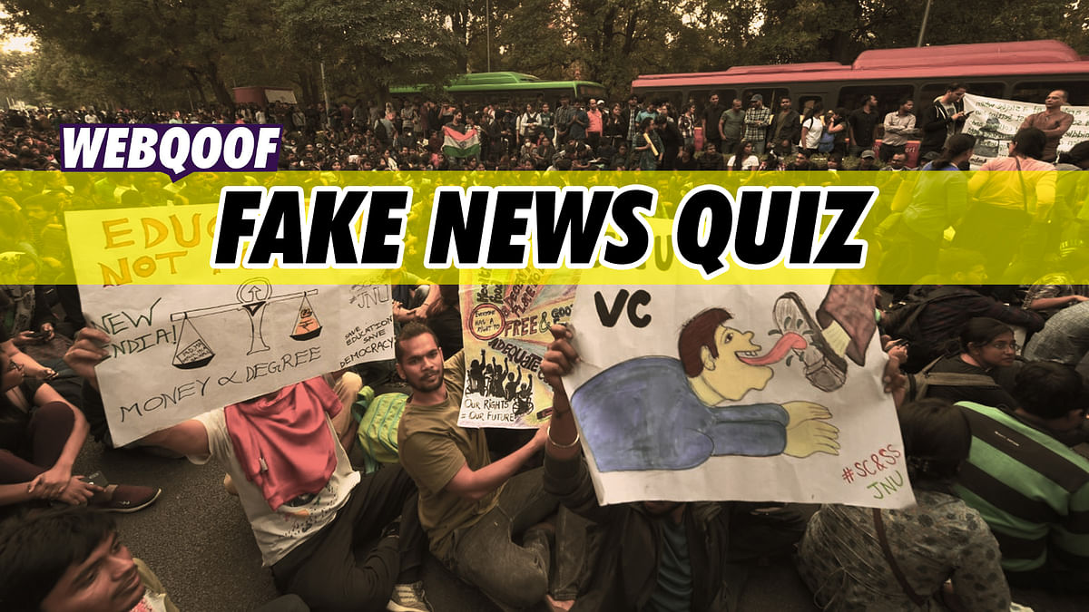WebQoof Quiz: How Much Fake News Did You Fall for in 2019?