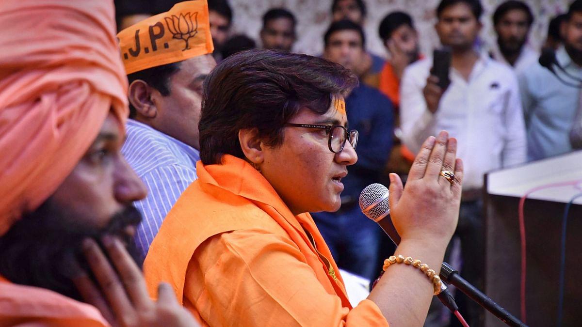 Angry Passengers Confront BJP MP Pragya Thakur For Delaying Flight