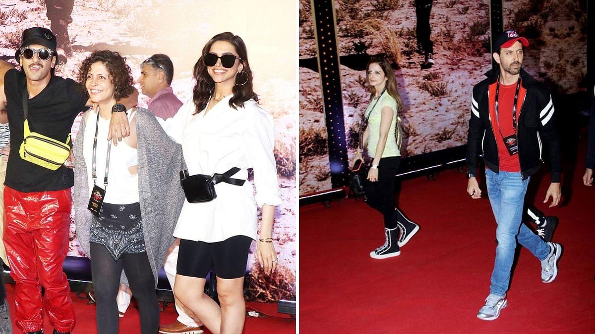 In Pics: Ranveer, Deepika, Hrithik & Others Attend the U2 Concert