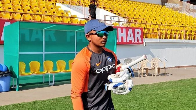 Prithvi Shawhas been named in the squad for three one-day games as well two four-day games.