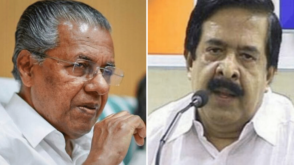 Chief Minister Pinarayi Vijayan and Opposition leader Ramesh Chennithala
