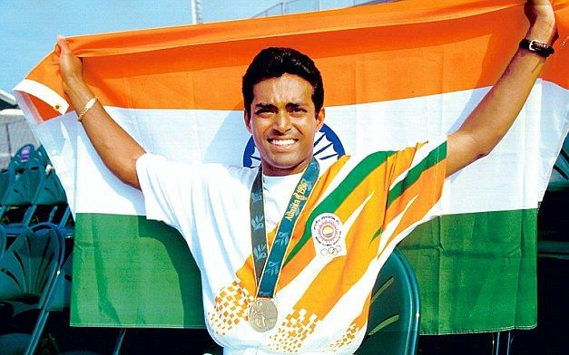 Leander Paes won bronze for India at the 1996 Atlanta Olympics.