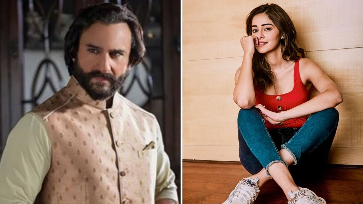 Saif Ali Khan and Ananya Panday will reportedly star in a film.
