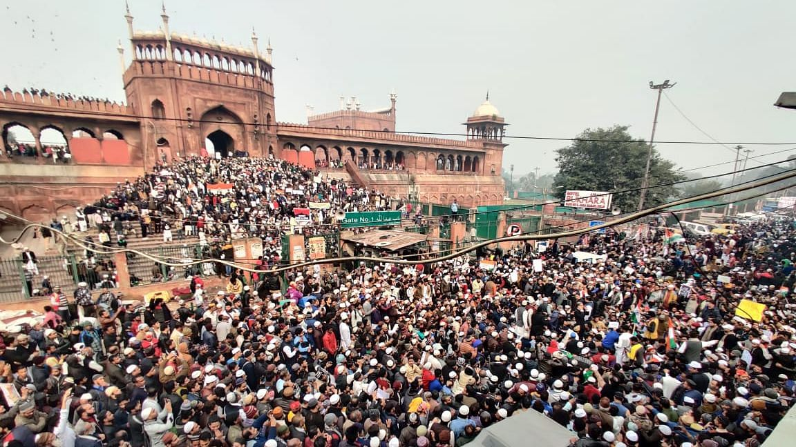 Bhim Army Chief Azad had given the call for the protest march from Jama Masjid to Jantar Mantar.