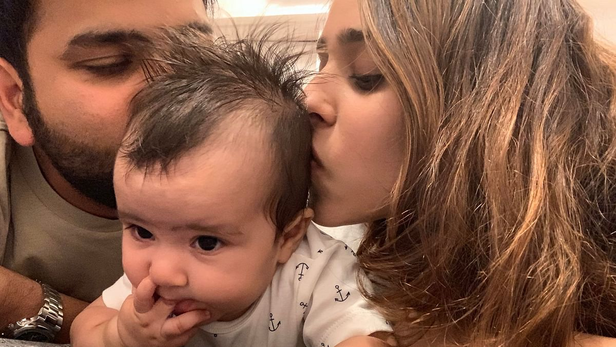 Rohit Celebrates Daughter's Birthday, Posts Photos on Social Media