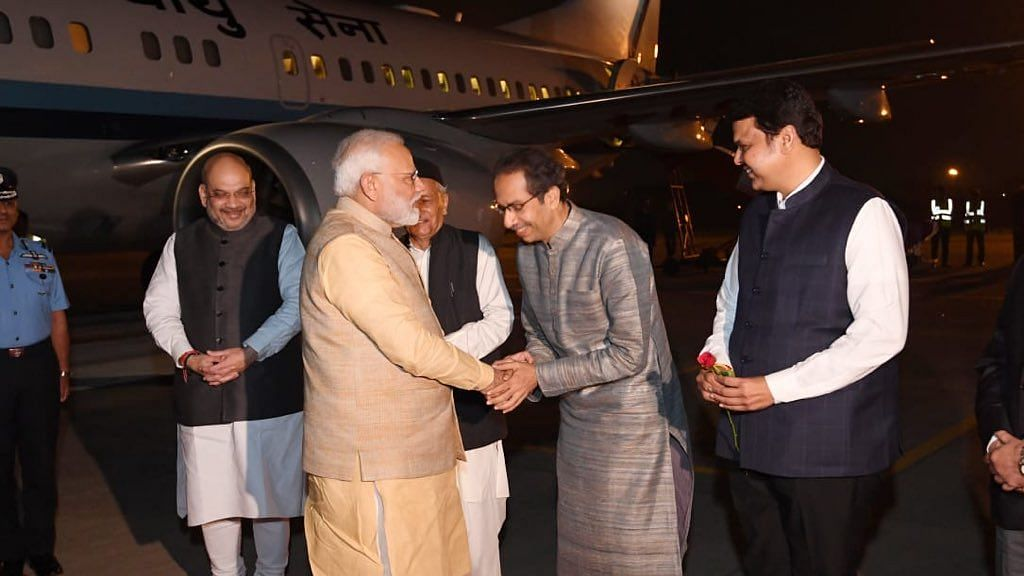 Maharashtra Chief Minister Uddhav Thackeray on Friday, 6 December received Prime Minister Narendra Modi at the Pune airport.